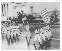 100th/442nd marches in Washington, D.C. [U.S. Army Signal Corps]