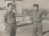 Left:  Kazuo Sato, Right:  Tamotsu Akiyoshi [Courtesy of Bernard Akamine]
