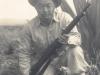 Ernest Enomoto in uniform, March 5, 1942 [Courtesy of Misao Enomoto]