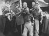 Pvt. M. Hiraki killed in action 11/4/43 - upper right, back. [Courtesy of Bert Hamakado]