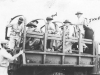 Soldiers arrive to Maui after an induction reception, July 1940. [Courtesy of Mary Hamasaki]