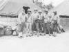 Sergeants of the 100th Battalion at camp.