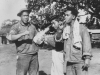 1941 - Kuhaiki, Me, Paahao.  [Courtesy of Mike Harada]