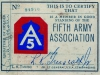 Fifth Army  Association Member ID   (Courtesy of Dorothy Inouye)