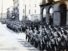 "1945 Parade in  Lecco, Italy.  Here comes ""Charlie Company""!  (Courtesy of Dorothy Inouye)"