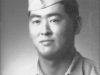 Army portrait of Shigeru Inouye in 1940. [Courtesy of Clinton K. Inouye]