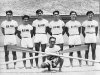 Shigeru and Walter Inouye, part of a Japanese rowing club in 1939. [Courtesy of Clinton K. Inouye]