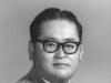 Official photo of Shigeru Inouye, President of Club 100 in 1960. [Courtesy of Clinton K. Inouye]