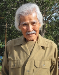 Stanley Izumigawa at the 2011 Congressional Gold Medal ceremony on Maui [Courtesy of Joan Izumigawa]