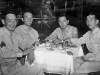 Takashi Kitaoka, James Tani, Mike Miyake and Harry Furushima on furlough in Chicago. [Courtesy of Takashi Kitaoka]