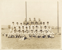 100th Battalion Aloha Baseball Team, 1942. [Courtesy of Dorothy Kometani]