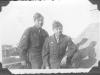 Moriso Teraoka and Don Akutagawa while on leave from Livorno, Italy, 1945 (Courtesy of Moriso Teraoka)
