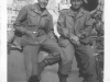 Moriso and a friend while on leave in Italy, 1945 (Courtesy of Moriso Teraoka)