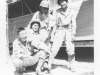 """Moriso """"Legs"""" Teraoka with fellow soldiers at Camp Shelby, Mississippi, 1944 (Courtesy of Moriso Teraoka)"""