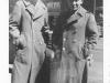 Moriso Teraoka and a friend in Chicago during a furlough in March 1944 (Courtesy of Moriso Teraoka)
