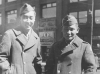 Moriso Teraoka and a friend in Chicago during a furlough in March 1944 (Courtesy of Moriso Teraoka)