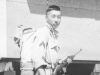 "Moriso ""Legs"" Teraoka at Camp Shelby, Mississippi, 1944 (Courtesy of Moriso Teraoka)"