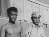 Isao Nadamoto (Right) with a friend.  [Courtesy of Jan Nadamoto]