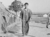 Taken Aug. 1942 of Masa Takeba.  He's in our Co. of same platoon.   Keep these in my albums.  [Courtesy of Jan Nadamoto]