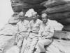 Taken August 9, 1942 taken Devil's Anvil, second stop on boat trip.  Wisconsin Dells, Wis.  [Courtesy of Jan Nadamoto]