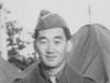 Yuki.  Taken Sept. 24, 1942 at Old Camp McCoy, Wis.  Yukio Takehara (he's from Wahiawa).  [Courtesy of Jan Nadamoto]