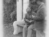 Changing film at Como Park entrance. St. Paul, Minn. Oct. 4, 1942.  [Courtesy of Jan Nadamoto]