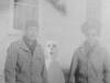 Dopey Kurakabe and Kenji Fukuda Nov. 27, 1942 Camp McCoy, Wi.  [Courtesy of Jan Nadamoto]