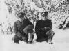 November 29, 1942 Another snow scene. Yukio Takehara, Waipahu by on the left.  [Courtesy of Jan Nadamoto]