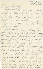 Saburo, 10/18/1945, page 1