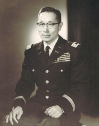 Colonel Young Oak Kim in 1961 [Go For Broke National Education Center]