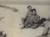 Tamura and Jack Morita with friends at Pen Beach May - '46 [Courtesy of Robert Arakaki]