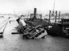Damage in Italian port [Courtesy of Robert Arakaki]