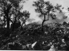 Bombing of the Benedictine Monastary in Cassino, Italy [Courtesy of Fumie Hamamura]