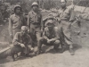 The Radio Section Gang in Anzio, Italy, April 1944. [Courtesy of Fumie Hamamura]