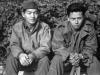 Stanley Hamamura and Toshimi Sodetani in Beausoleil, France, 1944 [Courtesy of Fumie Hamamura]