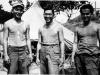 Stanley Hamamura, Sakurada, and Anzai at Camp McCoy, 1942 [Courtesy of Fumie Hamamura]