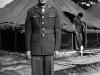 Stanley Hamamura in uniform at Camp McCoy, July 1942 [Courtesy of Fumie Hamamura]