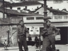 """With Tatsuo Suzuki - Novi Ligure, No. Italy - European War ended here May 1945"" [Courtesy of Fumie Hamamura]"