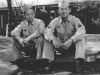 Stanley Hamamura With Ralph Fukunaga 13th Replacement Depot - Schofield - November 1945 [Courtesy of Fumie Hamamura]