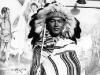 Stanley Hamamura dressed as an Indian Chief in Wiscosin Dells, 1942 [Courtesy of Fumie Hamamura]