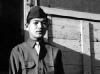 Stanley Hamamura at Camp Shelby, 1943 [Courtesy of Fumie Hamamura]