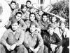 Members of Headquarters Company in Italy [Courtesy of Edward Ikuma]