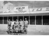 Jimmy Inafuku and other veterans visit Kobler Field Base Operations in Saipan [Courtesy of Carol Inafuku]