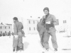 "James Kawashima eating an icicle. ""Boy! Its cold. Icicle is tasty too."" [Courtesy of Alexandra Nakamura]"