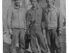 Kawashima (center) and friends standing in front of a building, Italy [Courtesy of Alexandra Nakamura]
