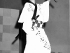 James dressed up as a one-eyed samurai for a club 100 event [Courtesy of Alexandra Nakamura]