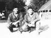 Clarence Yamamoto and  Isao Shiraki [Courtesy of Goro Sumida]