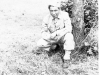 Goro Sumida, 1942, Camp McCoy, Wisconsin [Courtesy of Goro Sumida] Inscription: Goro Sumida. Reverse: Goro Sumida