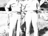 Nishie and Nori at Camp McCoy, Wisconsin. Inscription: Pfc. (Monte) Nishie Pf. Nori
