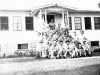 100th Battalion soldiers attend a picnic at a local Wisconsin home